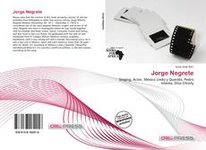 Bookcover of Jorge Negrete