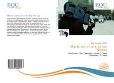 Portada del libro de María Antonieta de las Nieves