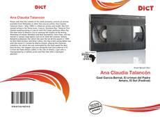 Couverture de Ana Claudia Talancón