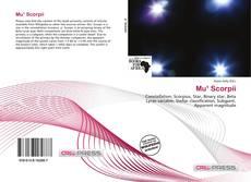 Buchcover von Mu¹ Scorpii