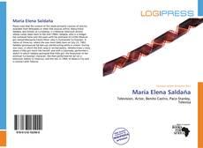 Capa do livro de María Elena Saldaña
