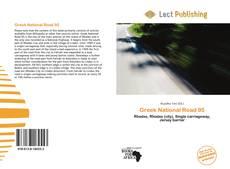 Portada del libro de Greek National Road 95