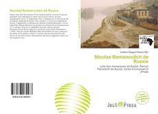Bookcover of Nicolas Romanovitch de Russie