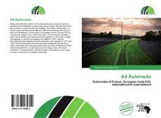 A4 Autoroute kitap kapağı