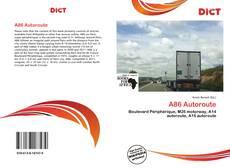 A86 Autoroute kitap kapağı