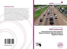 A83 Autoroute kitap kapağı