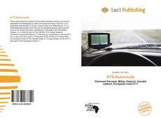 A75 Autoroute kitap kapağı