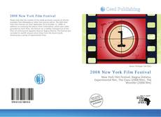 Обложка 2008 New York Film Festival