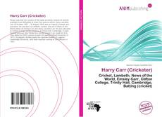 Bookcover of Harry Carr (Cricketer)