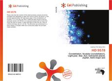 Bookcover of HD 9578