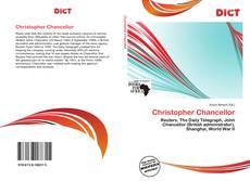 Buchcover von Christopher Chancellor