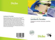 Bookcover of Lombard's Paradox