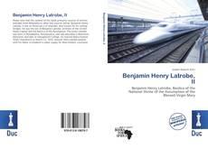Benjamin Henry Latrobe, II kitap kapağı