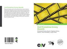 2nd Primetime Emmy Awards kitap kapağı