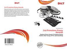3rd Primetime Emmy Awards kitap kapağı