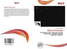 Alpha Telescopii kitap kapağı