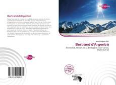 Buchcover von Bertrand d'Argentré