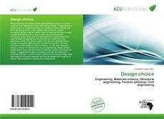 Bookcover of Design choice