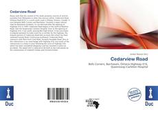 Bookcover of Cedarview Road