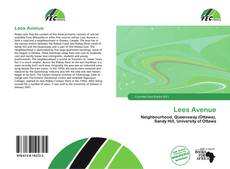 Bookcover of Lees Avenue