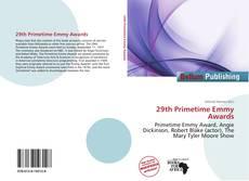 29th Primetime Emmy Awards kitap kapağı