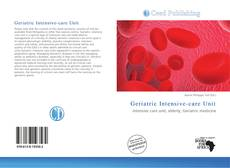 Bookcover of Geriatric Intensive-care Unit