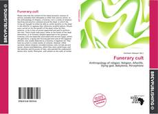 Bookcover of Funerary cult