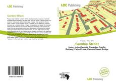 Bookcover of Cambie Street