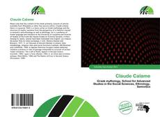 Bookcover of Claude Calame