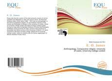 Bookcover of E. O. James