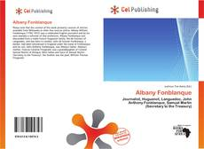 Bookcover of Albany Fonblanque