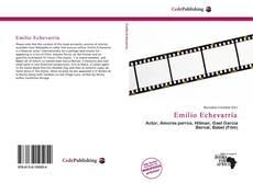 Buchcover von Emilio Echevarría