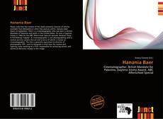 Обложка Hanania Baer