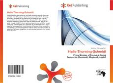 Bookcover of Helle Thorning-Schmidt