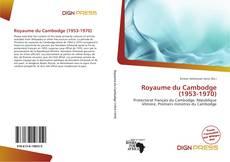 Royaume du Cambodge (1953-1970) kitap kapağı