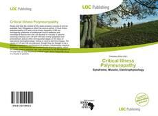 Couverture de Critical Illness Polyneuropathy