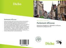 Bookcover of Parlement d'Écosse