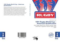 Copertina di 1991 Rugby World Cup – Americas Qualification