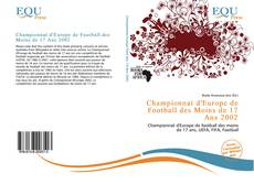 Bookcover of Championnat d'Europe de Football des Moins de 17 Ans 2002