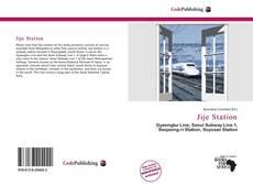 Bookcover of Jije Station