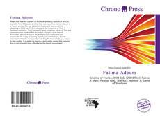 Capa do livro de Fatima Adoum