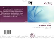 Bookcover of Royaume d'Ava