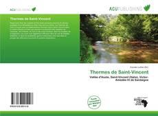Bookcover of Thermes de Saint-Vincent