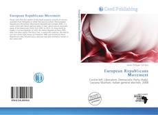 European Republicans Movement kitap kapağı