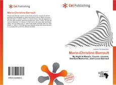 Copertina di Marie-Christine Barrault