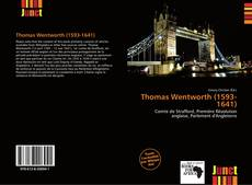 Bookcover of Thomas Wentworth (1593-1641)