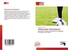 Portada del libro de Aleksandar Alempijević