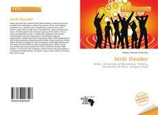 Buchcover von Jordi Dauder