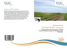 Bookcover of Calvary (CRT station)