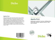 Bookcover of Apulia First